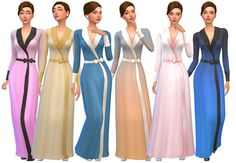 "byscreenside:  "" Hello again, y'all! I have a great big ole buncha Vintage Glamour Stuff recolors to share today. I separated them into 2 packages lights/darks - for file size reasons. I hope you like them, and please share pics if you use them! ♡..."