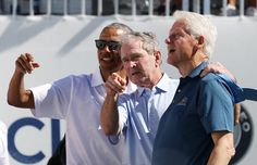 Obama, Bush And Clinton Help Make The Presidents Cup Something Special | HuffPost