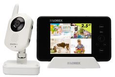 Infant baby monitor with remote Skype