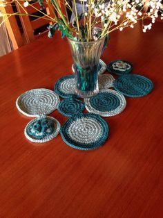 Caminito de mesa #crochet