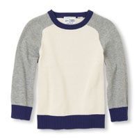 Long Sleeve Raglan Sleeve Crew Neck Sweater