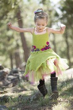 Little fairies will have a blast in this crochet dress. Fairy Princess Dress - Media - Crochet Me