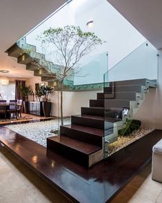 modern architecture interior. Great Looking Glass Railings Using Standoffs. Get Yours Too At Modern-Touch Design In Los Angeles. Modern Architecture Interior S