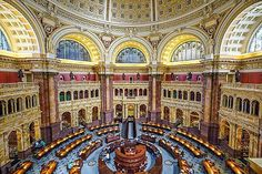 Biblioteca del Congreso. | S. Pavone/Getty
