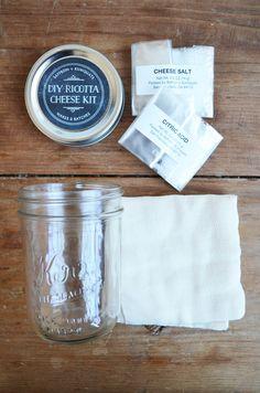 DIY Ricotta Cheese Kit