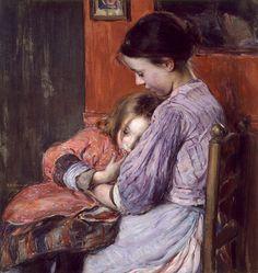 Elizabeth Nourse - La Petite Soeur (1902)