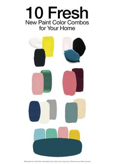 Fresh Paint Color Combos For Your Home