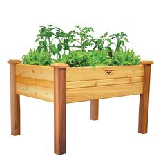 #Gronomics Cedar Elevated Garden Bed - Large | Branded #Wooden #Planters for #Home & #Garden at allplanters.com