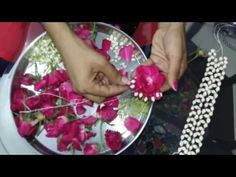 how to make real flower jewelry for mehndi and other fucntions - Modern Flower Jewellery For Mehndi, Mehndi Flower, Flower Jewelry, Diy Jewelry, Bridal Jewelry, Jewelry Making, Flower Garland Wedding, Flower Garlands, Flower Decorations