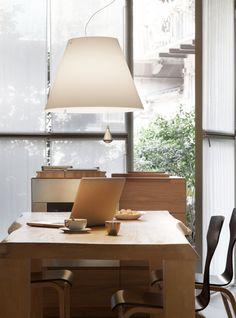 Costanza @home - designed by Paolo Rizzatto for Luceplan