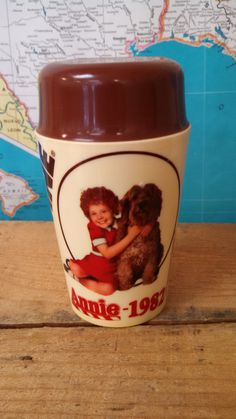 Vintage 1980s Orphan Annie Ovaltine by CollectorsAgency on Etsy