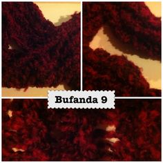 Bufanda 9 Christmas cushion.