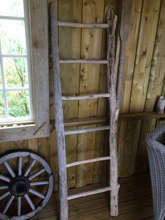 Drivved/driftwood ladder.