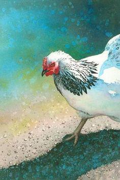 Chicken Scratch by sara