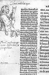 Hans Holbein - Folly - Marginalia in the 1st edition of The Praise of Folly by Erasmus