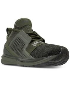 Puma Men's Ignite Limitless Knit Casual Sneakers from Finish Line - Green 10.5