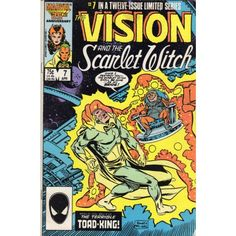 VISION AND THE SCARLET WITCH, THE #7 | Marvel Comics | April 1986 | The Recycled Find