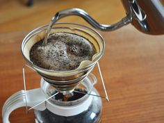 I received a pourover coffee maker for Christmas.  This is an excellent article about the science behind brewing coffee as well as tips to make the perfect cup.  Worth reading in my opinion. =)