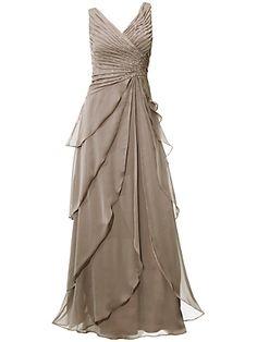 Koop Ashley Brooke by heine - Avondjurk lichttaupe in de heine online-shop Evening Dresses, Prom Dresses, Formal Dresses, Wedding Dresses, Lehenga, Beautiful Dresses, Nice Dresses, Online Dress Shopping, Dress Online