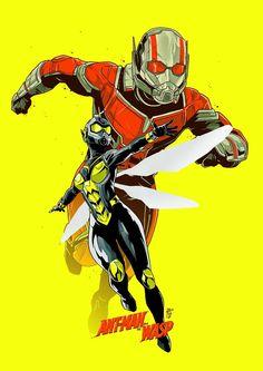 Homem Formiga e Vespa Marvel Avengers, Marvel Comics, Marvel Comic Universe, Marvel Fan, Marvel Heroes, Marvel Cinematic Universe, Captain Marvel, Captain America, Super Anime