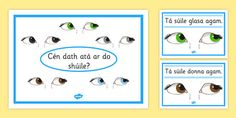 Search for Primary Resources, teaching resources, activities Primary Resources, Teaching Resources, Poster Colour, Eye Color, Irish, Colours, Activities, Eyes, Comics