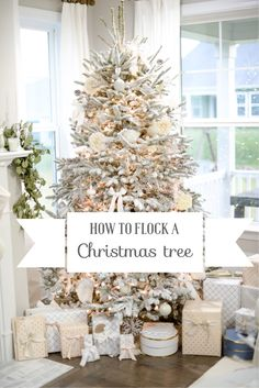 To Flock A Christmas Tree Diy Easy Steps To Happy New YearHow To Flock A Christmas Tree Diy Easy Steps To Happy New Year Planning to see the Northern Lights in Iceland? Here's what you need to know before you go Luxe holiday décor Christmas Tree Dyi, Flocked Christmas Trees Decorated, Rose Gold Christmas Decorations, Christmas Tree Toppers, White Christmas, Xmas Trees, Christmas Mantels, Christmas Stuff, Christmas Ideas