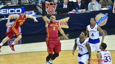 KANSAS CITY, Mo. – Iowa State is the Big 12 Tournament champion for the second-straight year, and it accomplished the incredible feat in its usual dramatic fashion. Trailing by 17 points early in the second half, No. 13 ISU (25-8 overall, 12-6 Big 12) rallied to defeat No. 9 Kansas (26-8 overall, 13-5 Big 12), 70-66 Saturday night in the Big 12 Championship final in Kansas City, Mo.