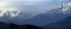majestic Mountains! Clicked from #Nalma #Pokhara #Nepal