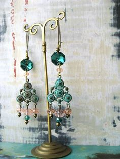 Chandelier Crystal Earrings by AllThingsPretty
