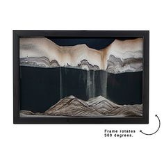 BLACK WINDOW WALL ART | Klaus Bosch, Desktop, Sand, Sculpture | UncommonGoods   The reviews on this product are great! This would look snazzy as a decoration in a main living space, but I've envisioned it in my office.