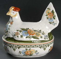 Hen On Nest in the Alt Amsterdam pattern by Villeroy/boch China