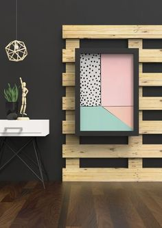 This abstract interior is filled with soft pastels, including pink, peach, and mint green. This abstract interior is filled with soft pastels, including pink, p