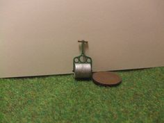 1/48th+Scale+Grass+Roller+1/4+Scale+Garden+by+LaPetiteMaisonDAmour,+£6.00