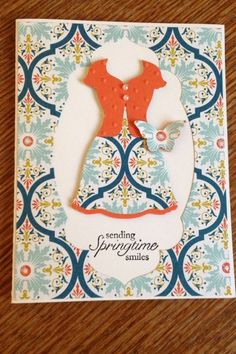 Thursday, March 7, 2013 All dressed up by bethsuhr - Cards and Paper Crafts at Splitcoaststampers