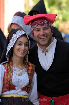 Costume of Cabras #sardegna #sardinia:#sardinians #sards #sardinian #people #europeans #traditions #folklore #sardi