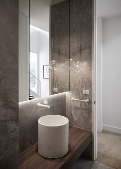 Collis Street Project / Projects / Polytec Modern Bathroom Design, Kitchen Design, Project Projects, Style, Swag, Design Of Kitchen, Modern Bathrooms, Outfits