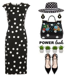 """Untitled #2100"" by shoaleh-nia ❤ liked on Polyvore featuring Dolce&Gabbana"