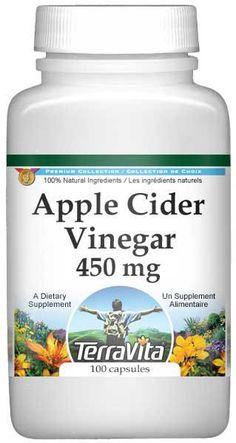 Apple Cider Vinegar 450 mg