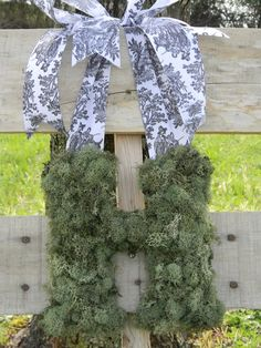Moss Covered Letters Custom Moss Covered Letters Tutorial  Decor  Pinterest  Moss Covered Design Decoration