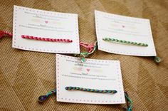 Frienship Bracelets with a Twist - For Converts