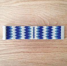 Jewelry Zilli, Bracelet tissé en perles de Rocaille, fermoir aimanté 13 : Bracelet par boutique-zilli