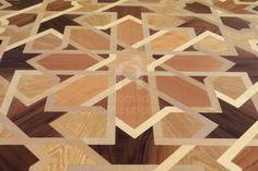 geometric wood floor designs - Google Search