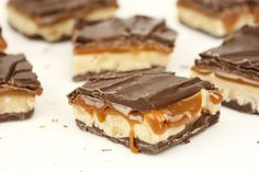 Homemade Snickers Bars, a-mazing