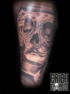 Tattoo Salvador Dali Salvador Dali, Tattoo Artists, Portrait, Tattoos, Tatuajes, Headshot Photography, Tattoo, Portrait Paintings, Drawings