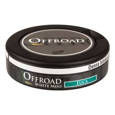 OFFROAD EUCA WHITE MINI | REGULAR STRONG | MINI PORTION SNUS | yoursnus.ch Offroad, Mint, Mocca, Dose, The Originals, Strong, Sweden, Off Road, Peppermint