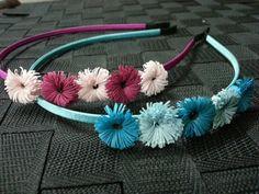Cutee little fringed hairband