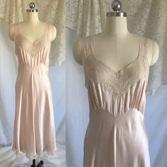 Excited to share the latest addition to my #etsy shop: Vintage 1940's Champane Silk & Lace Slip by Fischers Heavenly Lingerie #clothing #women #lingerie #gold #vintagenightgown #vintageslip #vintagesilkslip #vintagesilkgown