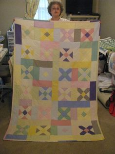 Quilt made by Nancy.