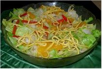 Chinese Chicken Salad With Chow Mein Noodles