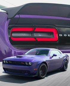 Purple Mustang, Muscle Cars, Dodge Motors, Dodge Challenger Srt Hellcat, Pretty Cars, Cafe Racer Motorcycle, Best Luxury Cars, Pony Car, Chevy Camaro
